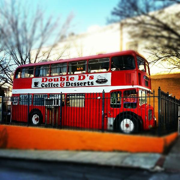 Asheville Double Decker Bus - Double D's