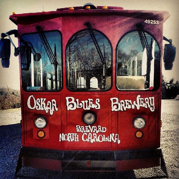 Oskar Blues Brewery in Brevard North Carolina