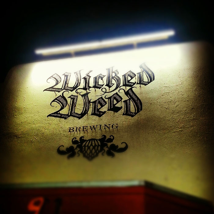 Wicked Weed Brewing Asheville NC