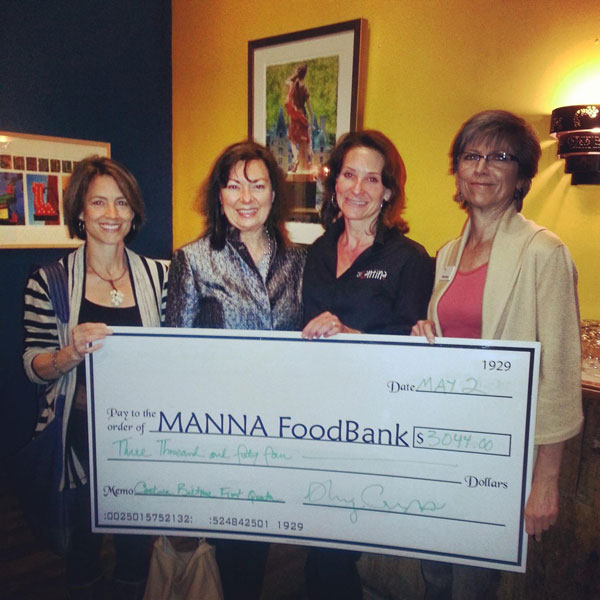 Asheville Cantina at Biltmore donates to MANNA FoodBank