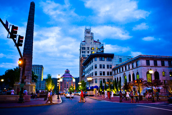 downtown asheville by audrey goforth