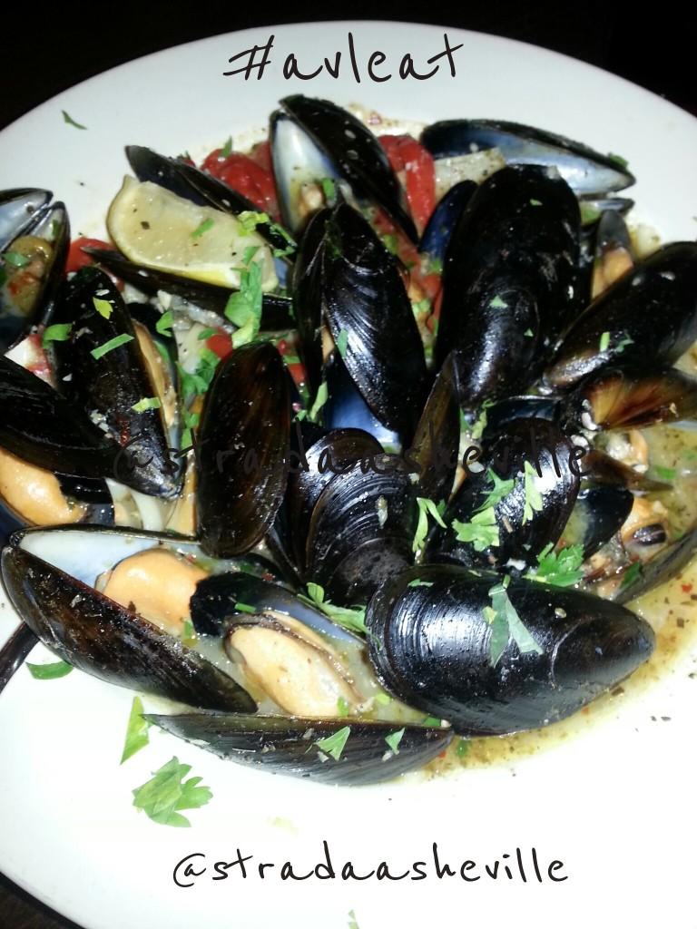 asheville mussels strada italiano