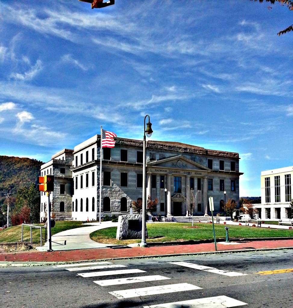 haywood county courthouse waynesville nc