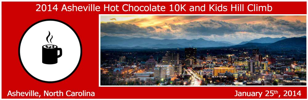 asheville hot chocolate 10k 2014