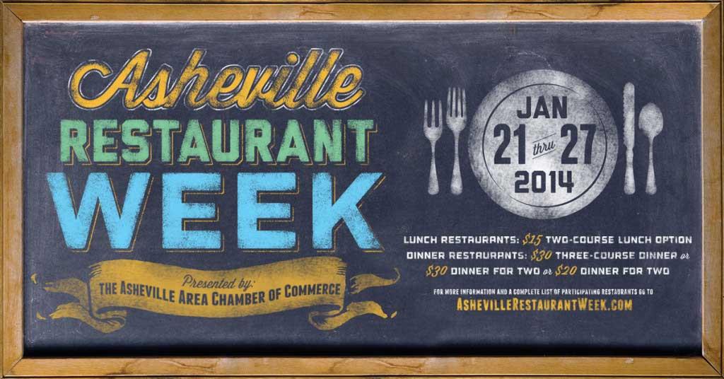 asheville restaurant week 2014
