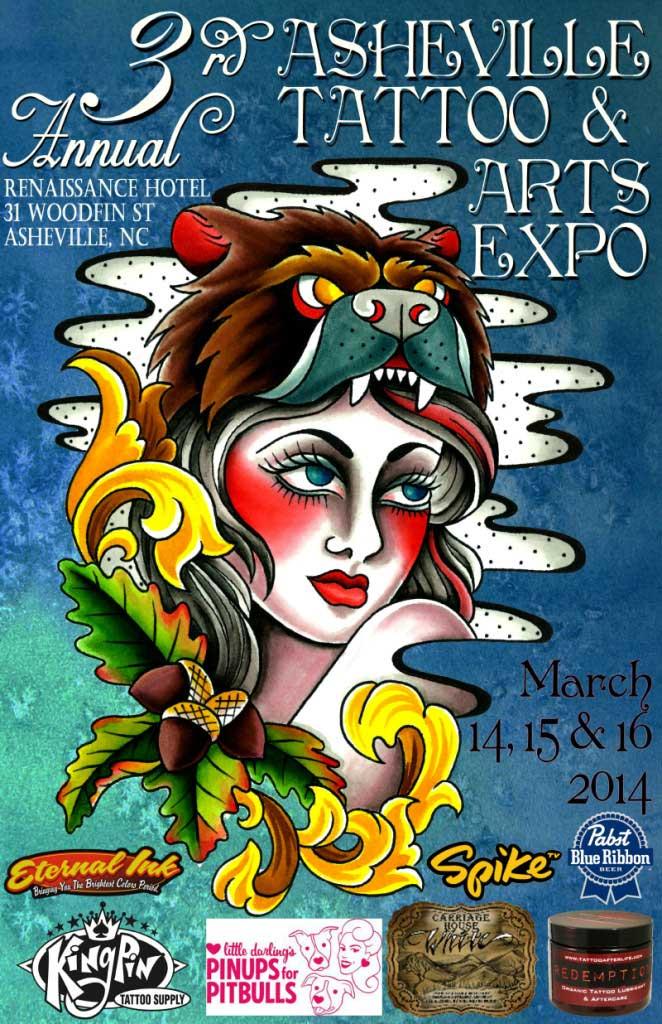 asheville tattoo arts festival 2014