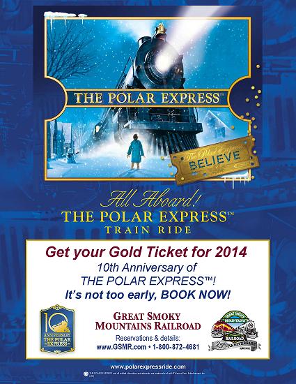 great smoky mountains railroad polar express