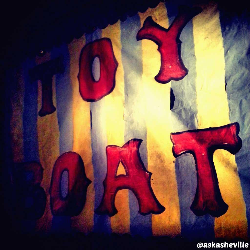 toy boat asheville