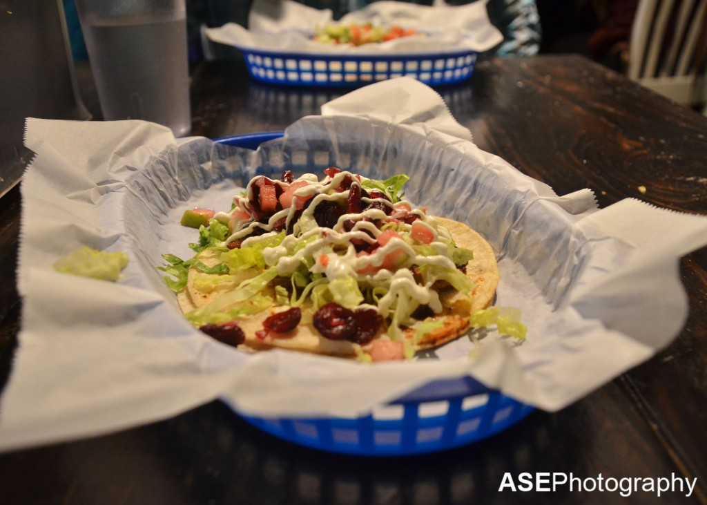 White Duck Taco in the River Arts District