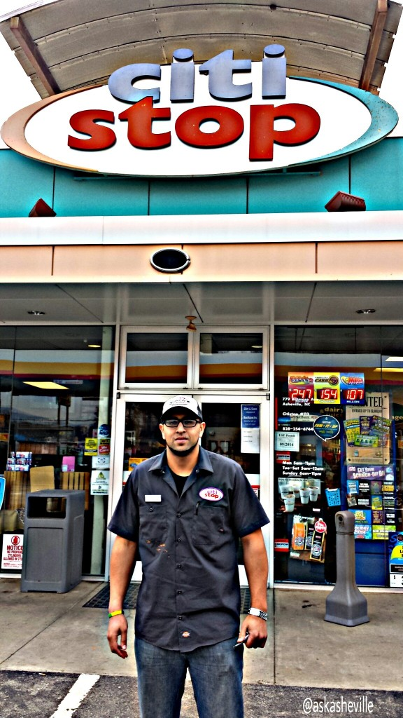 asheville gas station