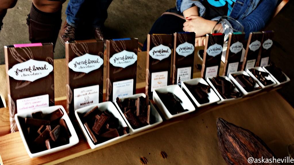 French Broad Chocolates at Catawba Beer