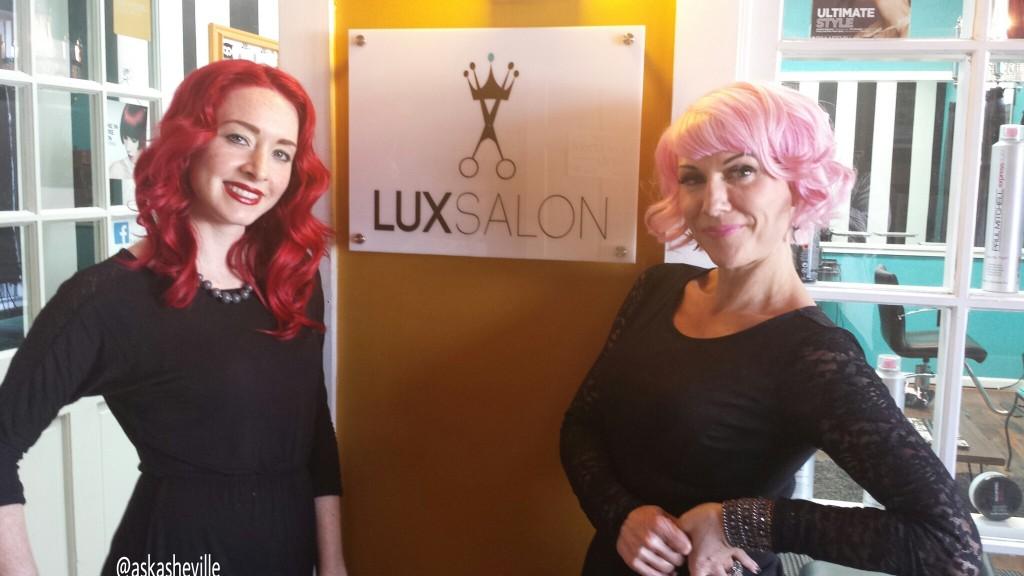 Jenna Wilson Christine Audiss Lux Salon Hendersonville North Carolina