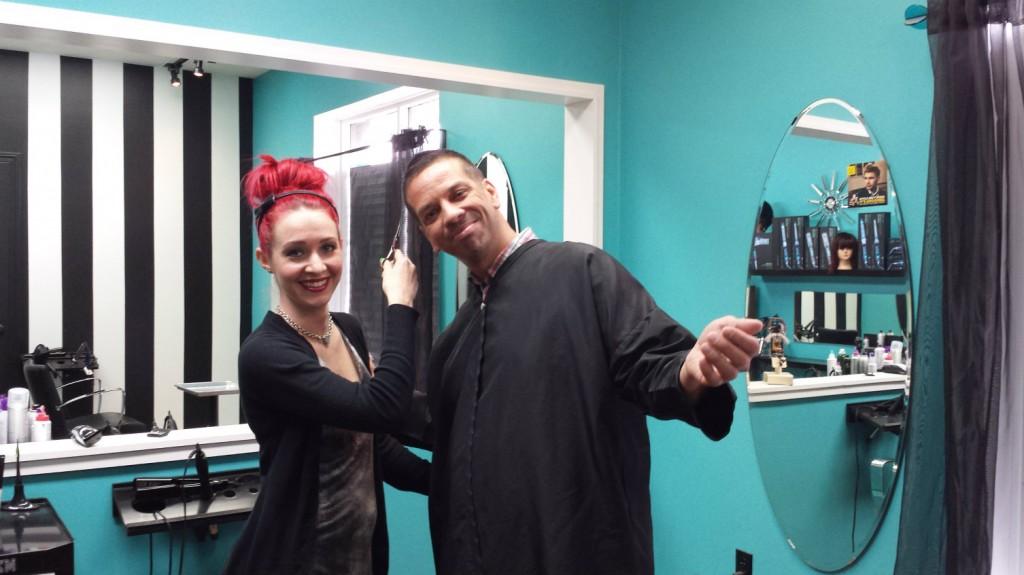 Jenna Wilson Gary Charles Lux Salon Hendersonville NC