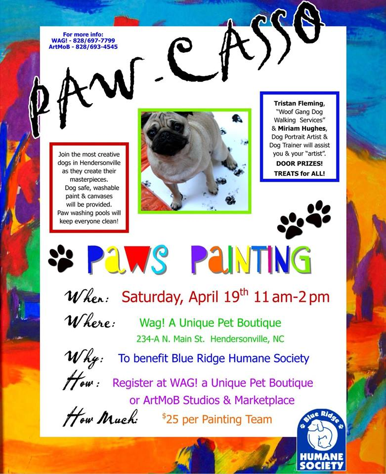 pawcasso hendersonville pets