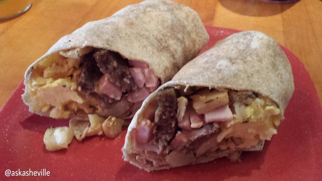 Artisan Deli Breakfast Burrito