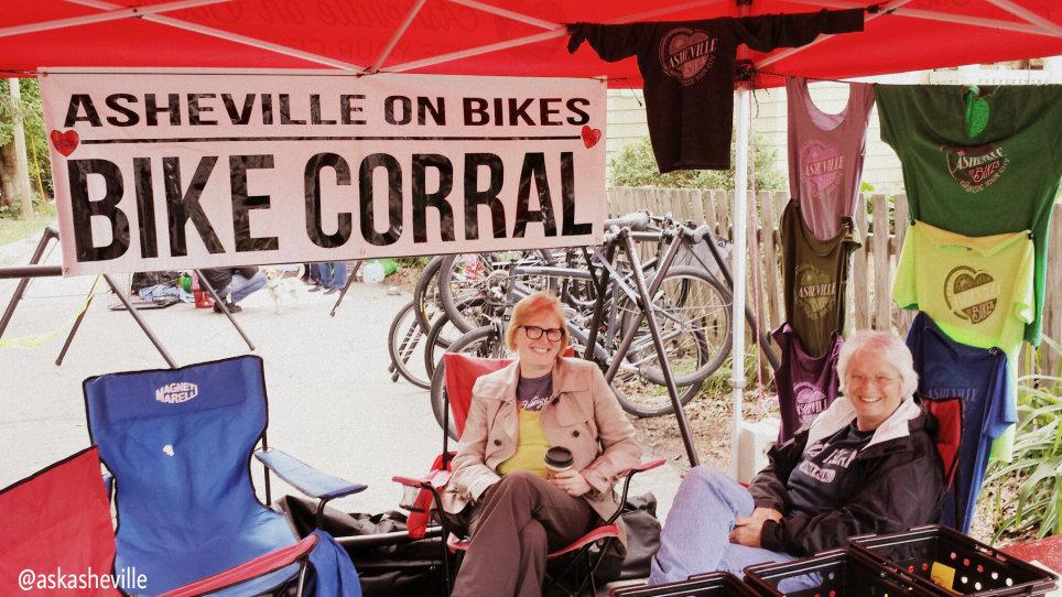 asheville on bikes montford fest