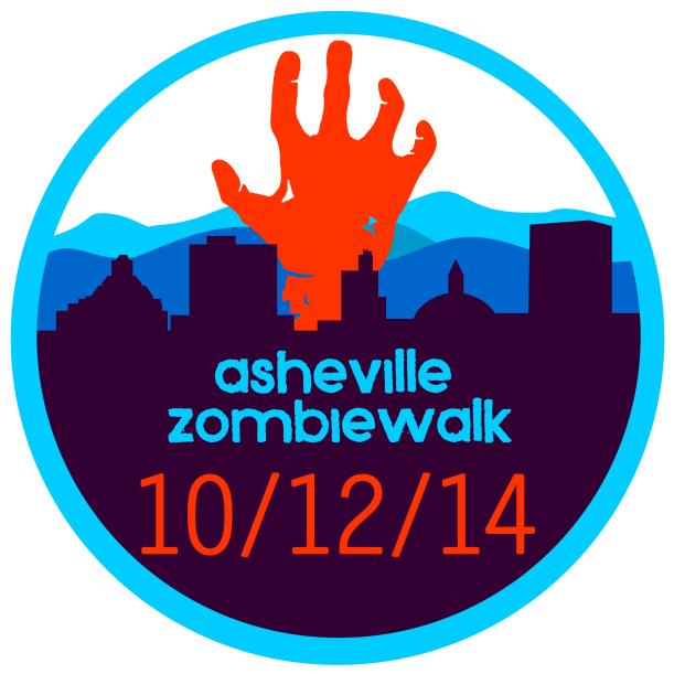 asheville zombiewalk 2014