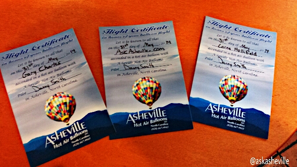 AskAsheville Hot Air Balloon