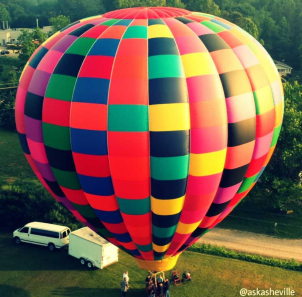 hot air balloon avl