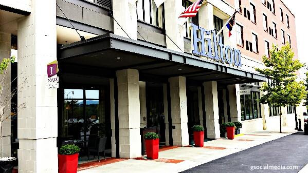 hilton asheville hotel
