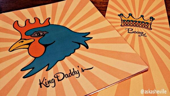 king daddys menu
