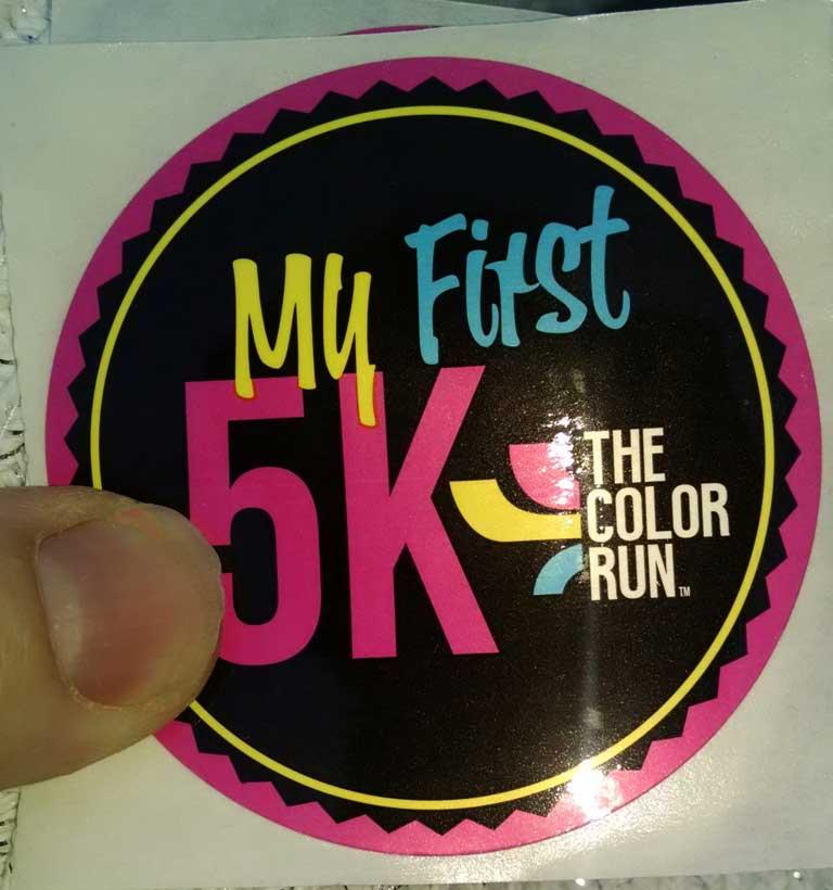 Asheville 5k Color Run