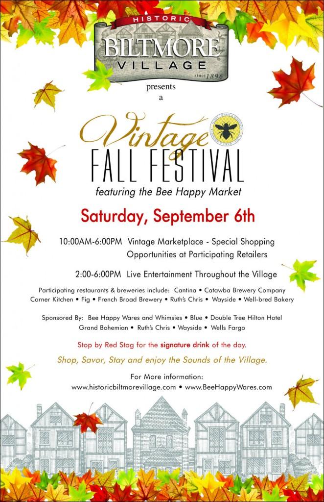 biltmore village vintage fall festival