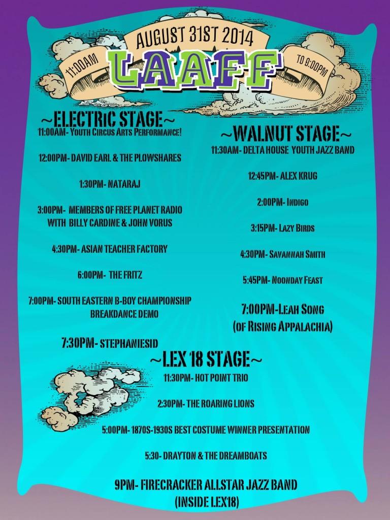 laaff lexington ave arts fun festival asheville