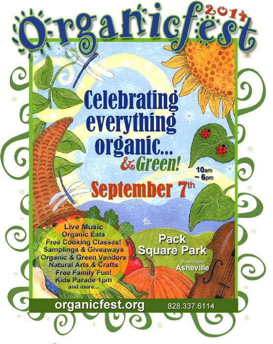 organicfest asheville 2014