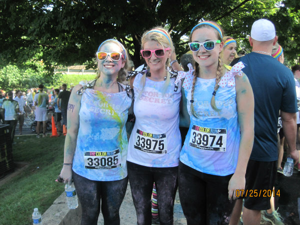 victorious secret asheville color run