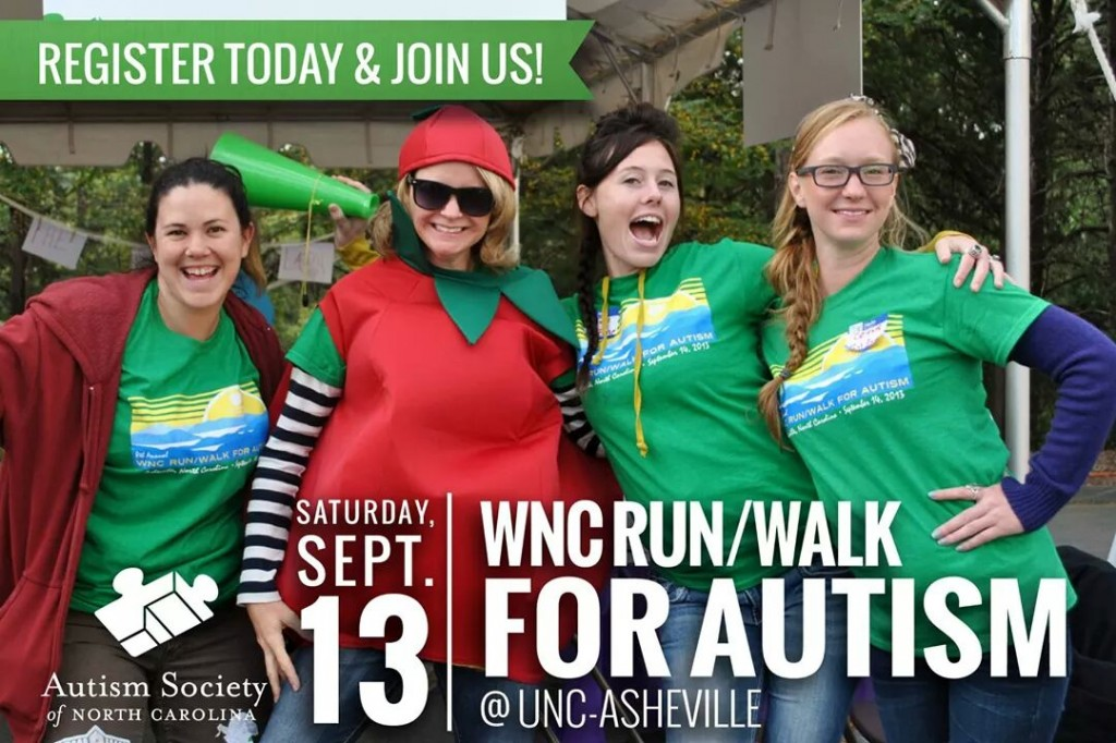 wnc run walk for autism asheville