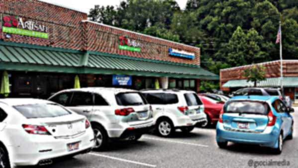 artisan cafe road trip from candler nc