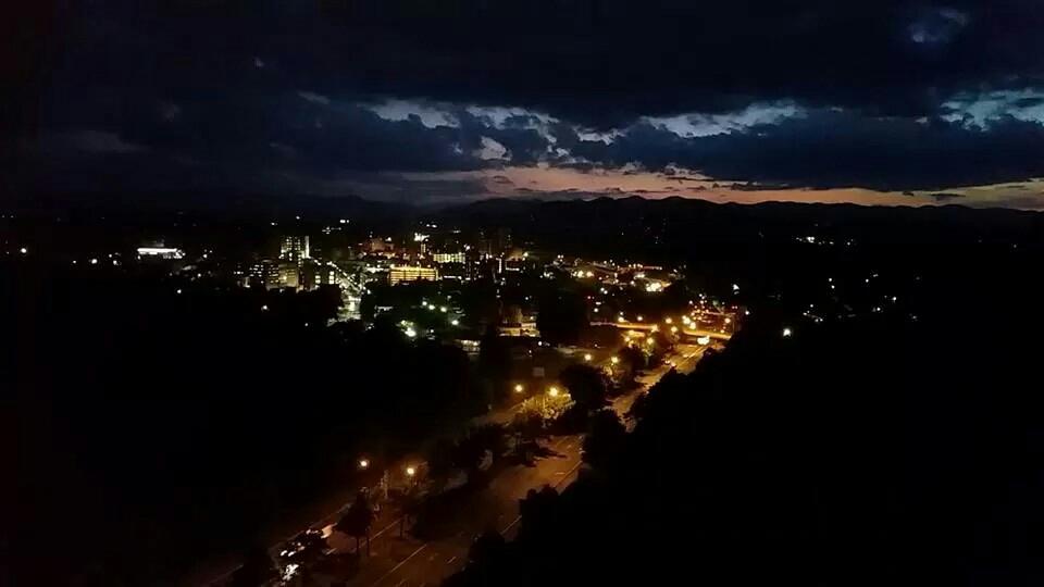 asheville cut at night