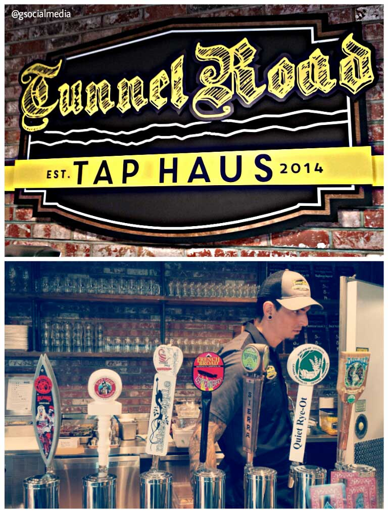 tunnel road tap haus asheville beer
