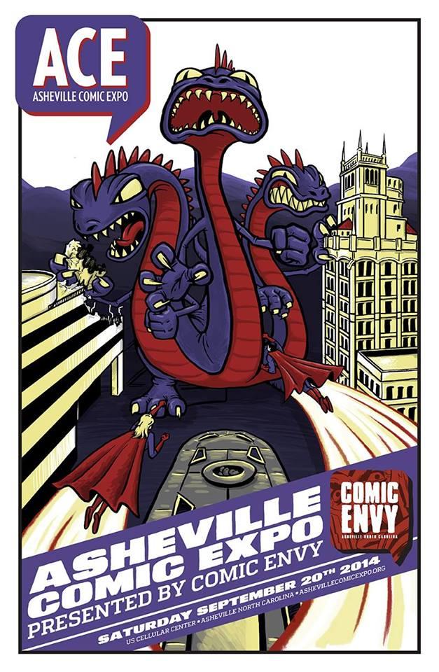 asheville comic expo 2014