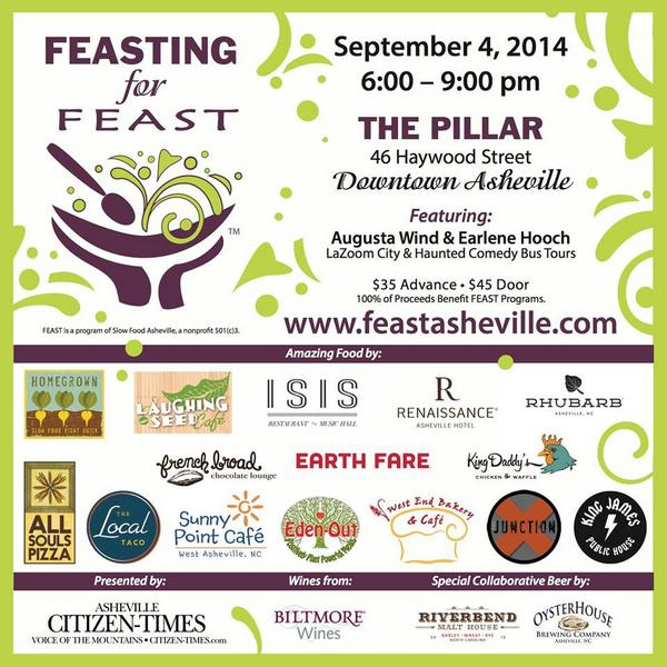feasting for feast asheville