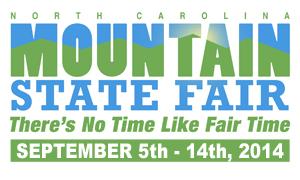 wnc nc mountain state fair 2014