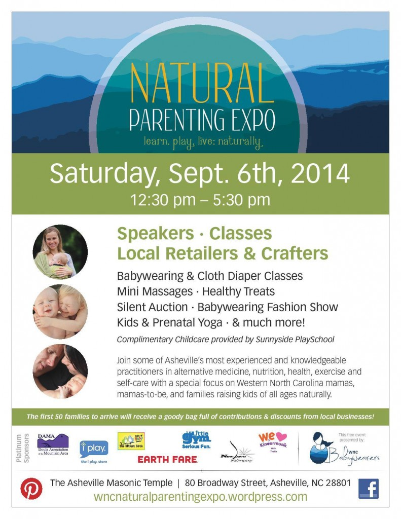 wnc natural parenting expo 2014 asheville