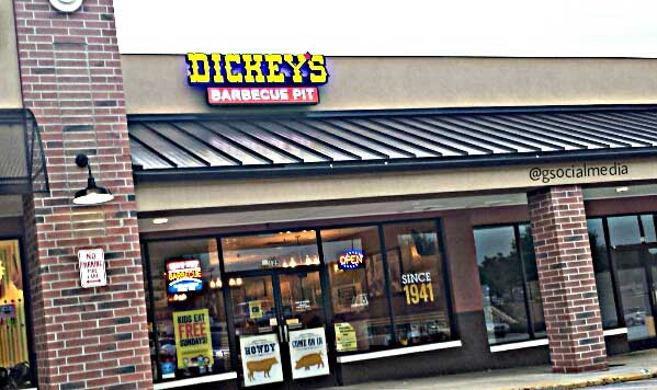 dickeys barbecue pit asheville
