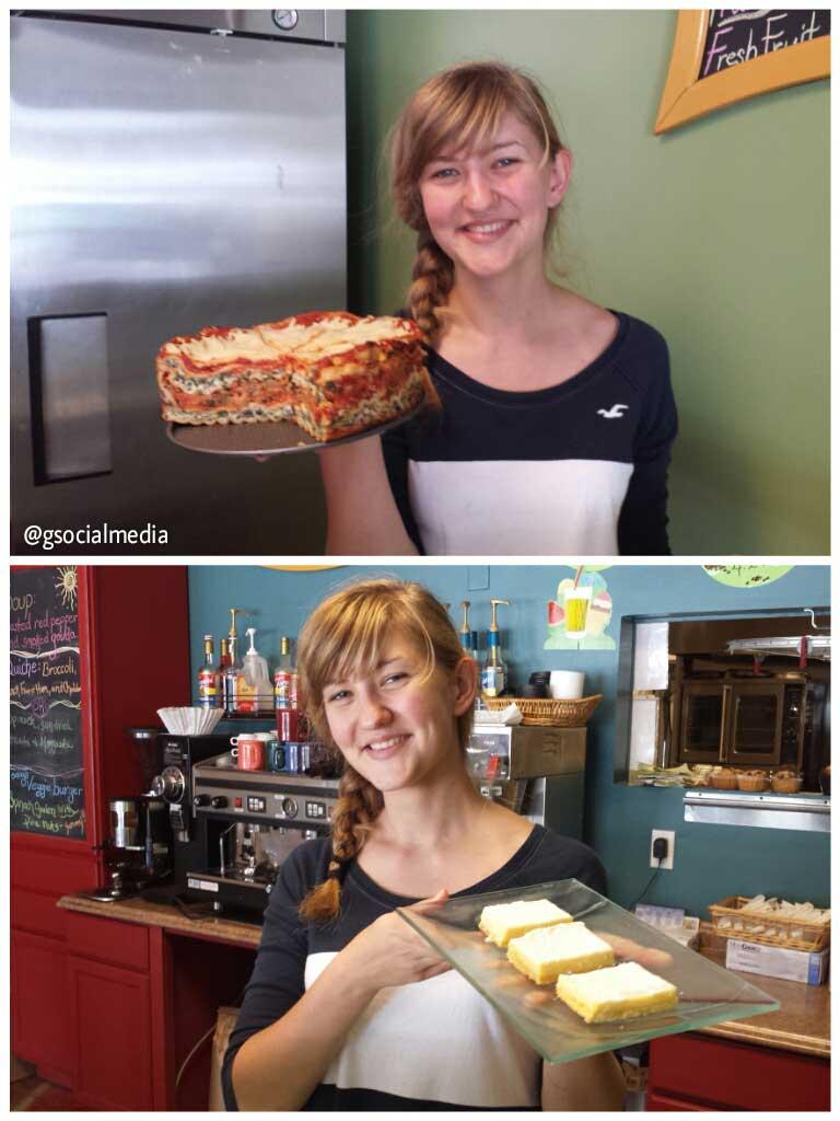 lasagna and lemon bars asheville