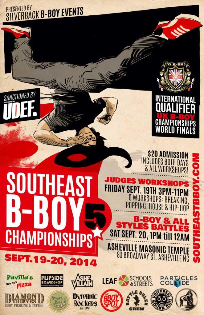 southeast b-boy championships asheville